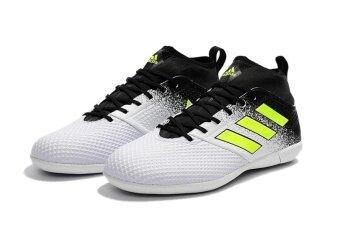 Men Sport Shoes ACE 17.3 Primemesh IC Black White - intl - 5