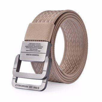 Harga Men's double buckle fashion Belt - intl