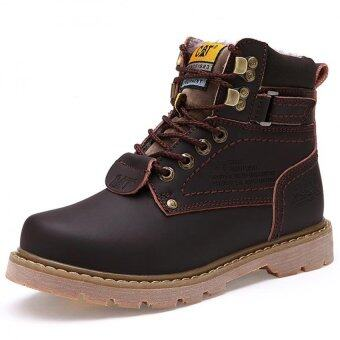 Harga Men's fashion boots High-top shoes to help men shoes