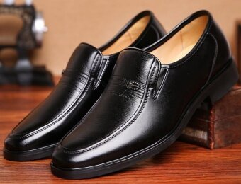 Men's leather shoes, men's shoes black sandals men business suitsleisure shoes - intl