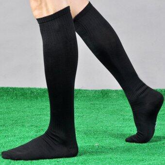 da7d51255cd รีวิว Men s Women Sport Football Soccer Long Socks Over Knee High  SockBaseball Hockey NEW – intl