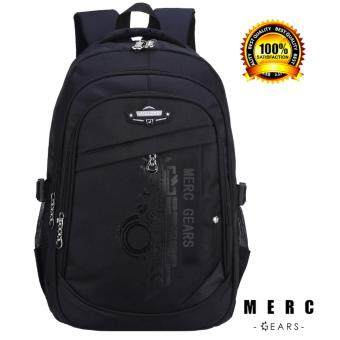 Merc Gears กระเป๋าเป้ ผู้ชาย สะพายหลัง สีดำ