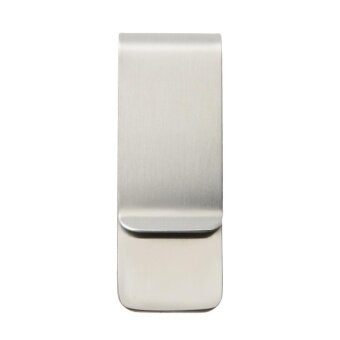 Metal Stainless Steel Money Clip Holder Folder Collar Clip(Silver) - intl