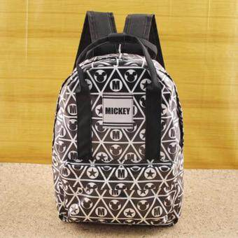 Mickey Mouse & Friends Backpack กระเป๋าเป้สะพายหลังกระเป๋าเป้มิกกี้เมาส ์สีดำ-02 สินค้าลิขสิทธิ์ Disneyแท้