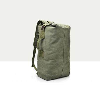 """กระเป๋าสัมภาระอเนกประสงค์ สะพายหลัง ผ้าแคนวาส Military Canvas Duffle European & American Style Backpack Bag 33L"""""""
