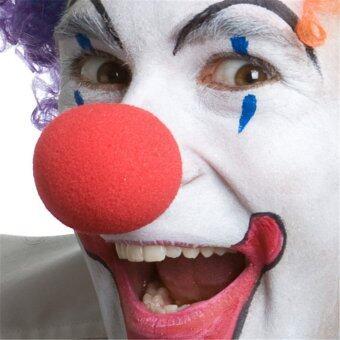 MIRAGE-SHOP จมูกตัวตลก CLOWN - สีแดง (image 1)