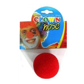 MIRAGE-SHOP จมูกตัวตลก CLOWN - สีแดง (image 0)