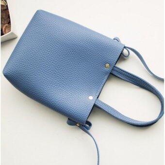 ต้องการขาย กระเป๋าถือพร้อมสายสะพาย รุ่น Darin สีน้ำเงิน