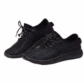 moniga รองเท้าผ้าใบอย่างดี Molly สีดำ