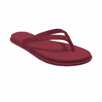 MONOBO รองเท้าแตะ รุ่น Jenny4 Color สีแดง/แดง - 4