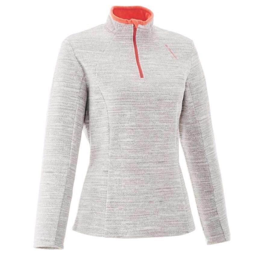 ถูกที่สุด !! เสื้อกันหนาวสำหรับผู้หญิง สีขาว MOTTLE WHITE อุณหภูมิ 7-10 องศา size s