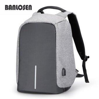 Multifunction USB charging Men 15.6inch Laptop Backpacks ForTeenager Fashion Male Mochila Leisure Travel backpack anti thief -intl