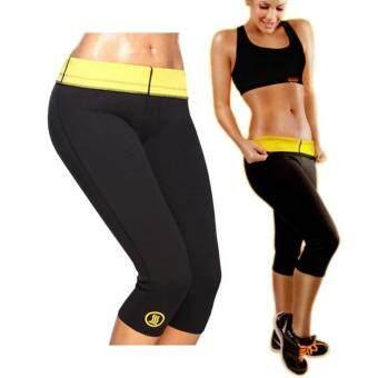กางเกงออกกำลังกาย กางเกงเรียกเหงื่อ Neo shapers Hot Pants (สีดำ)