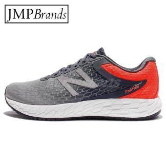 New Balance (นิวบาลานซ์) รุ่น MBORAGO3 รองเท้าวิ่งสีเทา / แดง