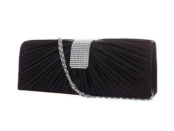 niceEshopSatin Bridal Party Cocktail Evening Bag Clutch Handbag Prom Purse