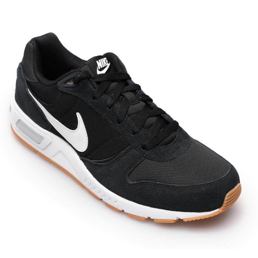 NIKE MEN รองเท้าผ้าใบ ผู้ชาย รุ่น NIGHTGAZER - 644402006 (BLACK/WHITE)