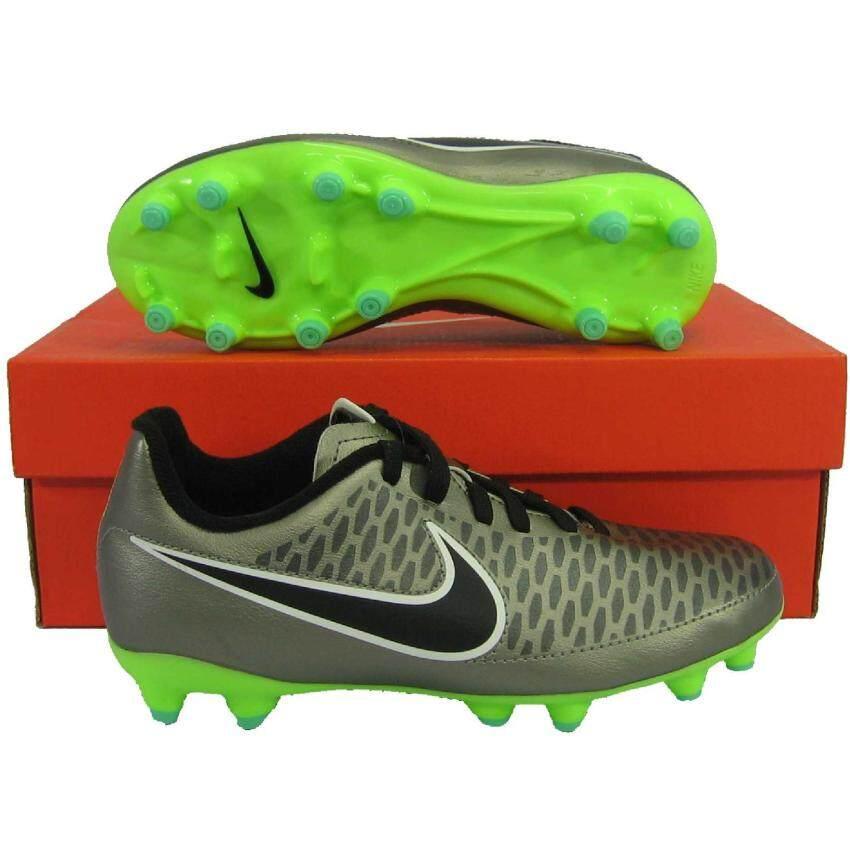 นำเสนอ Nike รองเท้ากีฬา รองเท้าสตั๊ดเด็ก NIKE 651653-010 JR MAGISTA ONDA FG เงิน เบอร์ US 1Y