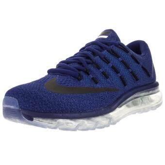 Nike รองเท้าวิ่งผู้ชาย Nike Air Max 2016 806771-401 (Deep Royal Blue/Black/Racer Blue/Photo Blue)