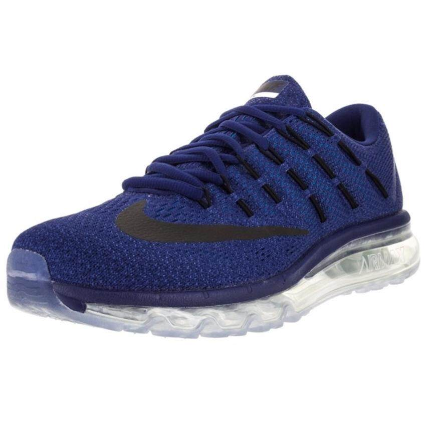 Nike รองเท้าวิ่งผู้ชาย Nike Air Max 2016 806771-401 (Deep Royal Blue/Black/Racer Blue/Photo Blue)