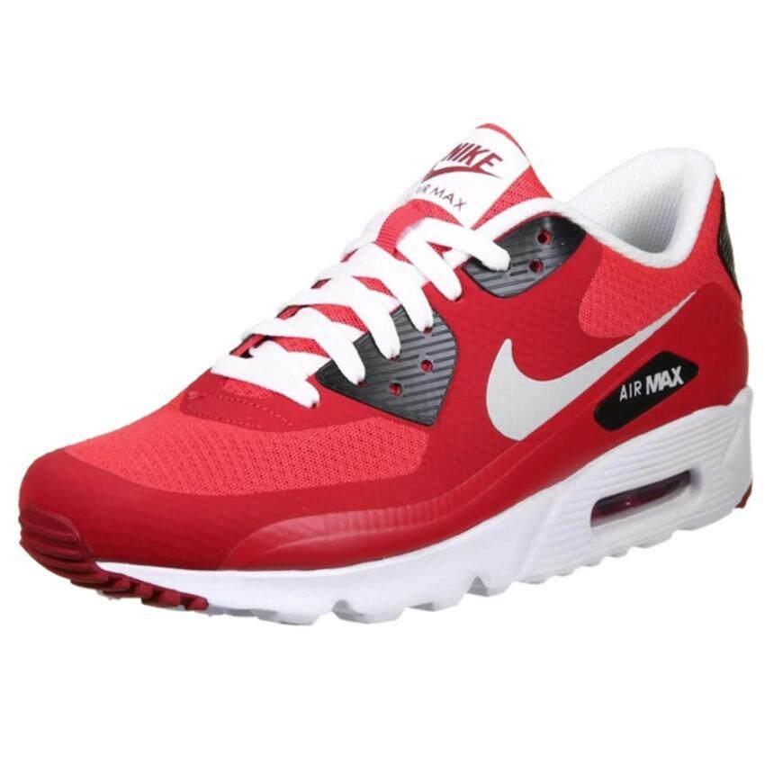 รีวิว Nike รองเท้าแฟชั่นผู้ชาย Nike Air Max 90 Ultra Essential 819474-600 (Action Red/Pure Platinum)