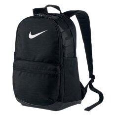 Nike กระเป๋าเป้ แฟชั่น ชาย NIKE Brasilia (Medium) Backpack ลิขสิทธิ์แท้ สี black
