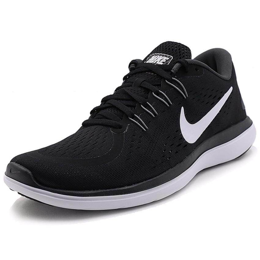 ขายถูก Nike รองเท้าวิ่งผู้ชาย Nike Flex 2017 RN 898457-001 (Black/Anthracite/Cool Grey/White)
