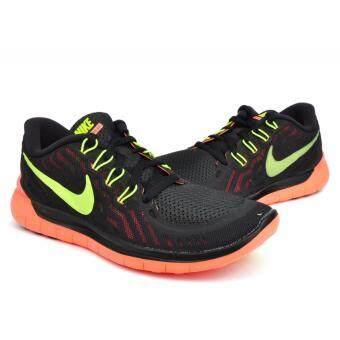 Nike (โปรดเทียบไซด์รองเท้า ตามตาราง) รองเท้าฟิตเนส รองเท้าลำลอง รองเท้าวิ่ง รองเท้าเที่ยว รองเท้าบาส รองเท้าวอลเล่ รุ่น Nike Free 5.0 Women's Running Shoe
