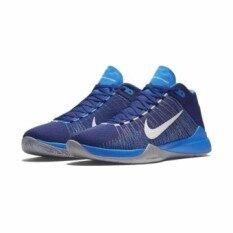 NIKE รองเท้าบาส ฟิตเนส ชาย NIKE Zoom Ascension 856575400 ลิขสิทธิ์แท้ สี น้ำเงิน
