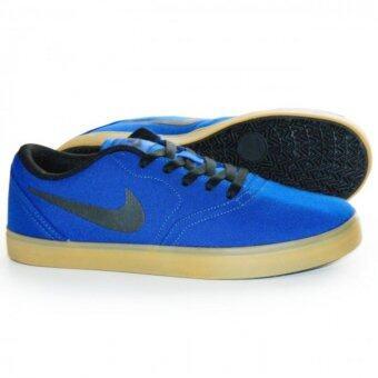 ประเทศไทย Nike รองเท้าลำลองชาย สเก็ตบอร์ด SB Check Canvas ลิขสิทธิ์แท้ สี Deep Royal