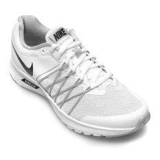 NIKE WOMEN รองเท้าผ้าใบ ผู้หญิง รุ่น AIR RELENTLESS 6 - 843882100 (WHITE/BLACK-WOLF GREY)