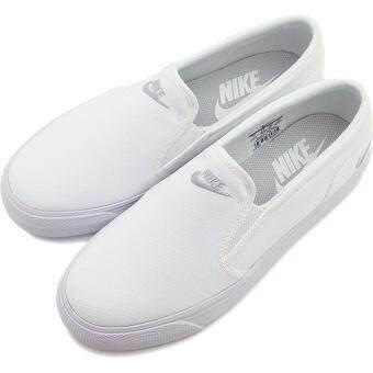 Nike รองเท้า ผ้าใบ ไนกี้ Women Shoe Toki Slip On 724770-100 (2300)