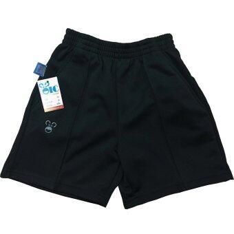 Oic sport กางเกงวอร์ม ขาสั้น / เด็ก- 888 (สีดำ) XS-XXL