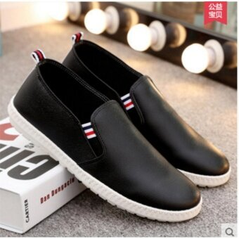 OJ Men's business casual shoes are used in English pu shoes - intl - 4