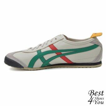 Onitsuka Tiger Mexico 66 รุ่นยอดนิยม DL408-1684 (Brown/Green/Red)