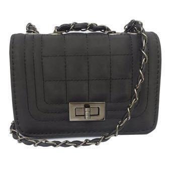รีวิวพันทิป OPEN กระเป๋าถือแฟชั่นพร้อมสะพายข้างขายดีสีดำ (หน้าสี่เหลี่ยม)