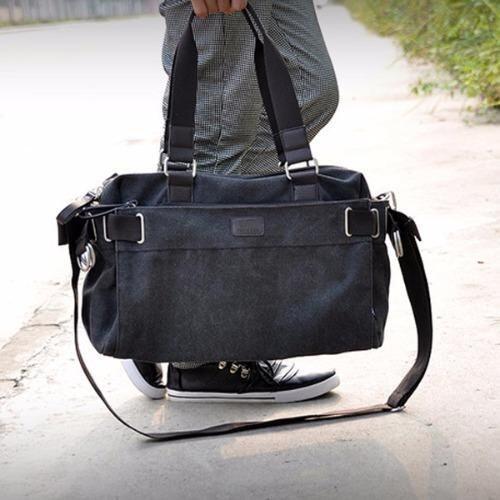 Osaka กระเป๋าผู้ชายสะพายข้างหรือถือ  รุ่น UP125 - สีดำ