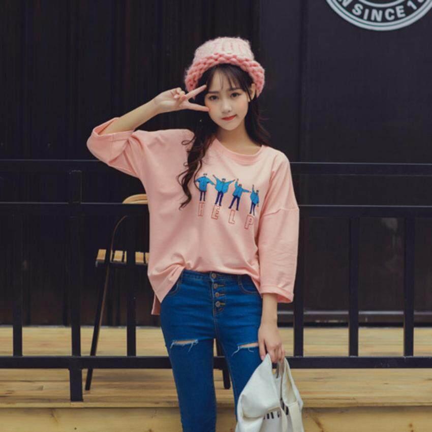 เสื้อ oversize สไตล์เกาหลี