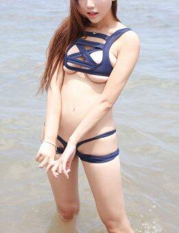 OVIA Fashion Women's Cross Bikini Set Beach Bathing Suit (Blue) -intl - 5