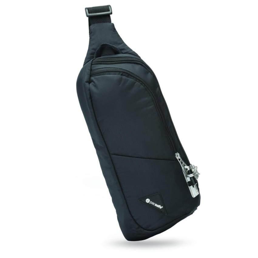Pacsafe กระเป๋าสะพายพาดลำตัวรุ่น Vibe 150 anti-theft cross body pack (Black)