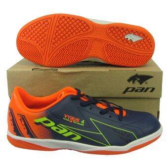 รองเท้ากีฬา รองเท้าฟุตซอลเด็ก PAN 14J6 VYRUS 4 JR กรมเขียว