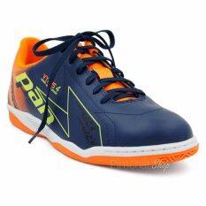 PAN รองเท้าฟุตซอล Vyrus4 (สีกรมท่าส้ม)