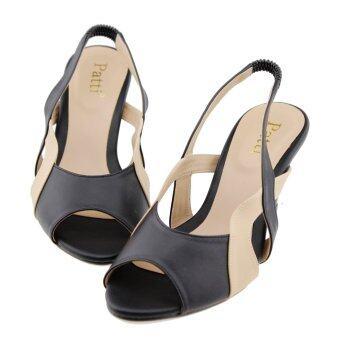 Patti รองเท้าผู้หญิง แฟชั่น รุ่น P78-012 (Black) - 2