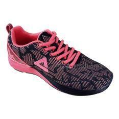 PEAK รองเท้า วิ่ง มาราธอน Marathon ระบายอากาศ พีค Running Shoe รุ่น E54012H Black/Pink