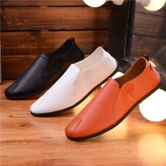 เกาหลีใหม่ฤดูใบไม้ผลิ Peas รองเท้า (สีดำ)
