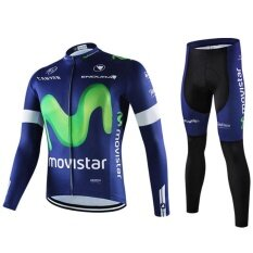 Pro Brand Long Sleeve Bicycle Cycling Jersey Set - intl