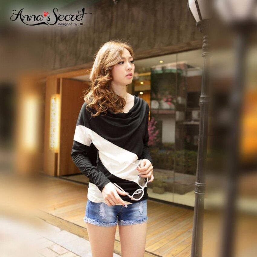 เสื้อแฟชั่นผู้หญิงสไตล์ เกาหลี แขนยาว