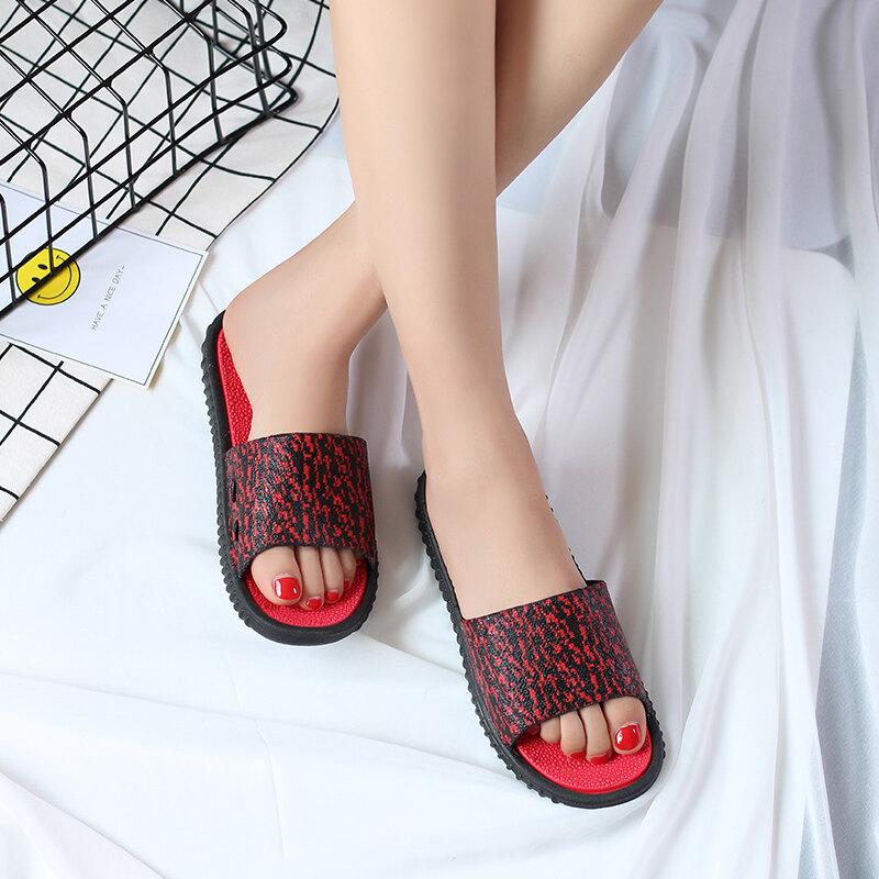 ในร่มน่ารักสาวผู้ปกครองเด็กเด็กรองเท้าแตะรองเท้าเด็กรองเท้าแตะ (สิ่งล่อใจสีแดง (รุ่นหญิง))