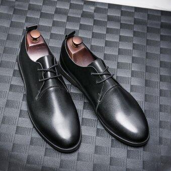 ฤดูใบไม้ร่วงใหม่ของผู้ชายเหมาะสมกับธุรกิจรองเท้า (สีดำ [ส่วนแผนที่หลัก])