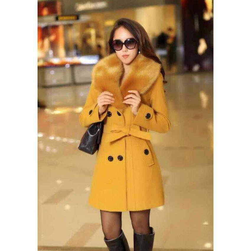 เสื้อกันหนาวโค๊ตผู้หญิง  เสื้อกันหนาวเกาหลี สำหรับอากาศติดลบ ผู้หญิง