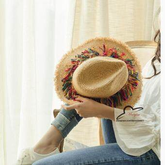 หมวกปีกหมวกสานหมวกทรงปานามาหมวกกันแดดหมวกปานามา
